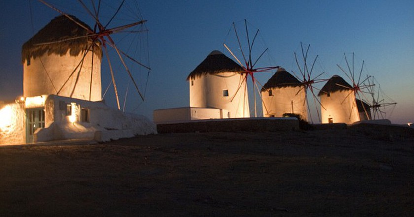 Mykonos windmills | © Kevin Poh/Flickr