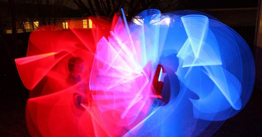 Lightsabers   © Brian Neudorff/Flickr