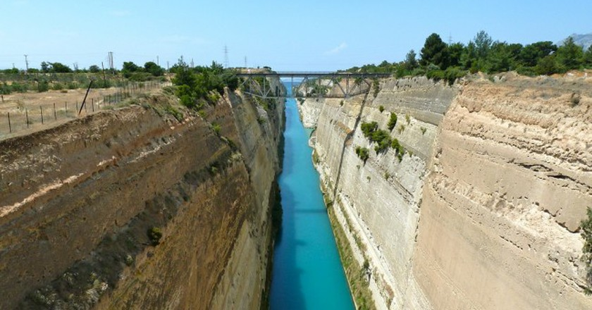 The Corinth Canal | © mroach/Flickr