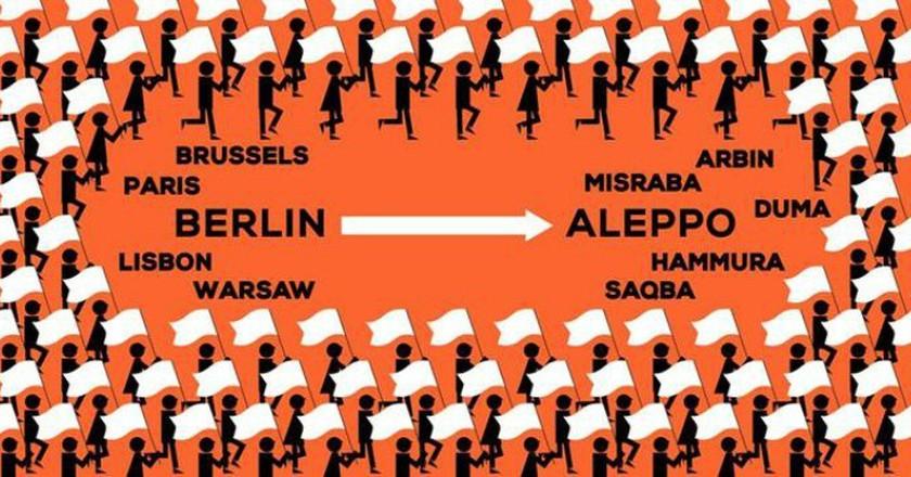 Courtesy of Civil March for Aleppo