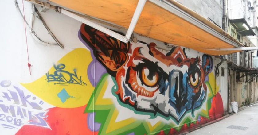 The Best Of Hong Kong's Burgeoning Street Art Movement