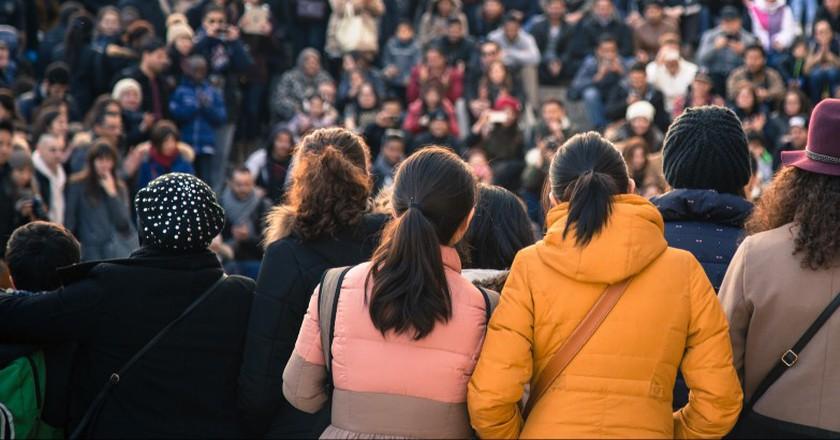 Paris people watching  │© StephenRMelling