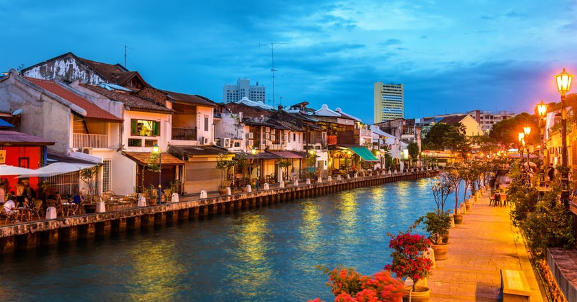 Old Town Melaka at sunset | © Durch Leonid Andronov / Shutterstock