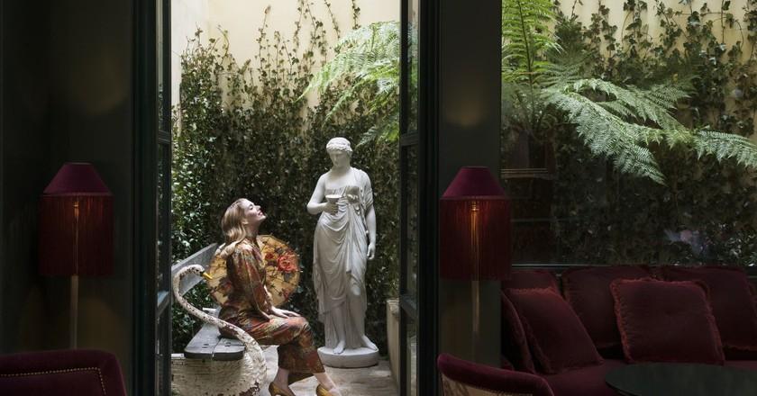 The garden at the Maison Souquet │ Courtesy of the Maison Souquet