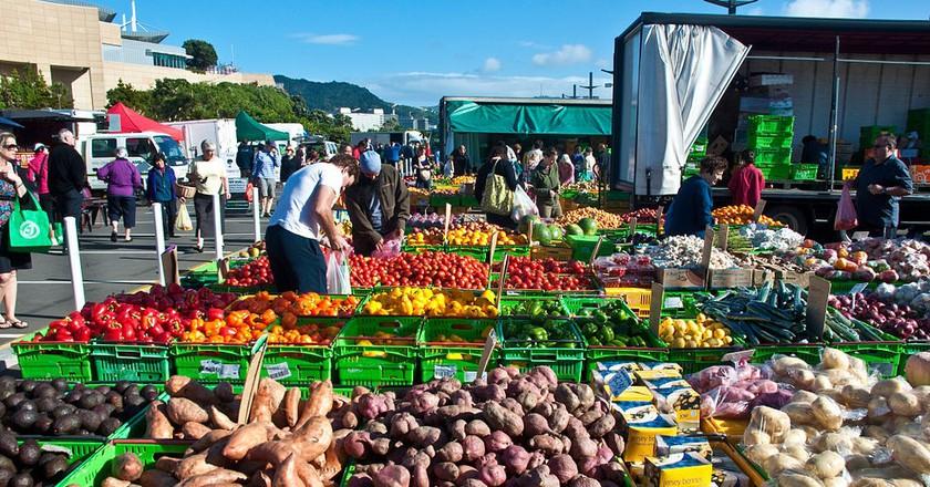 Wellington Harbourside Market, New Zealand | © Phillip Capper/Flickr