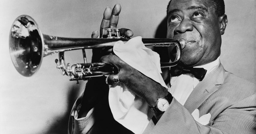 Louis Armstrong put Nice on the jazz map by playing at the first ever Nice Jazz Festival in 1948 | © Public Domain/WikiCommons