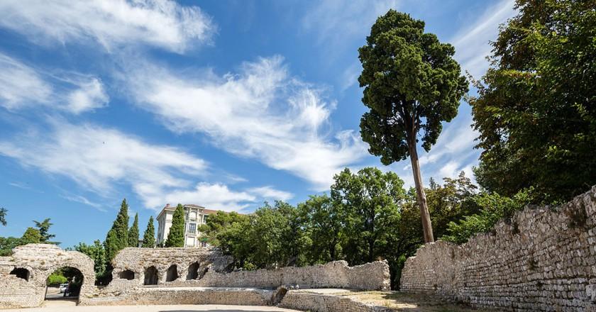 The Roman arena in Cimiez, Nice   © Édouard Hue/WikiCommons