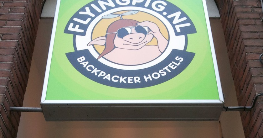 The Flying Pig Hostel in Amsterdam | © Ben Babcock/Flickr