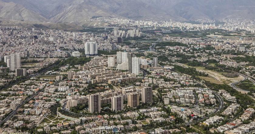 Tehran skyline   © Ninara / Flickr