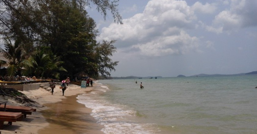 The beach at Otres, Sihanoukville  © Marissa Carruthers