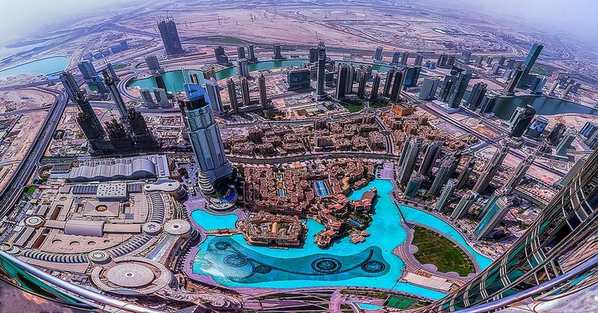 Dubai from up high | © Maher Najm / Flicker