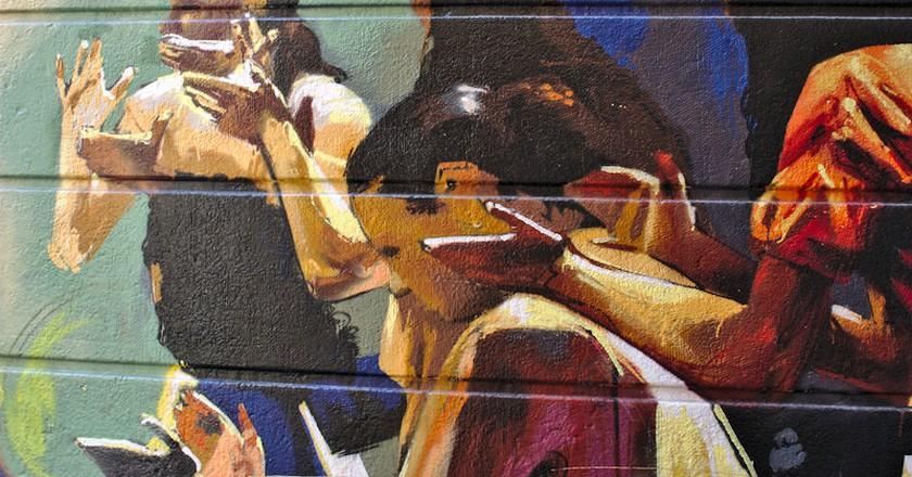 Street art in Granada; Joanna Boj, flickr