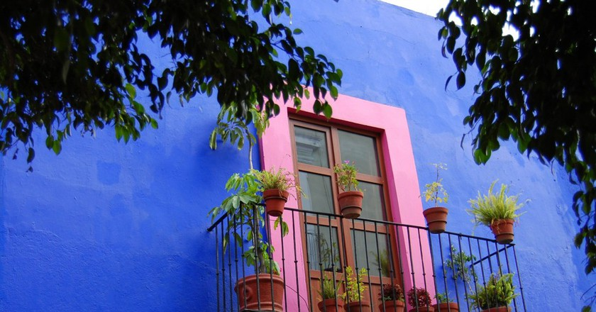 Colourful house in Puebla | © Russ Bowling/Flickr