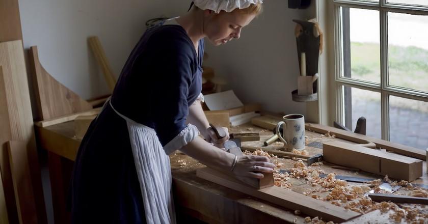 Colonial Williamsburg Virginia Carpenter and Joiner shop | © C Watts/Flickr