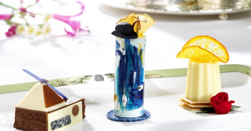 'Art Tea' at The Merrion Hotel, Dublin | Courtesy of The Merrion