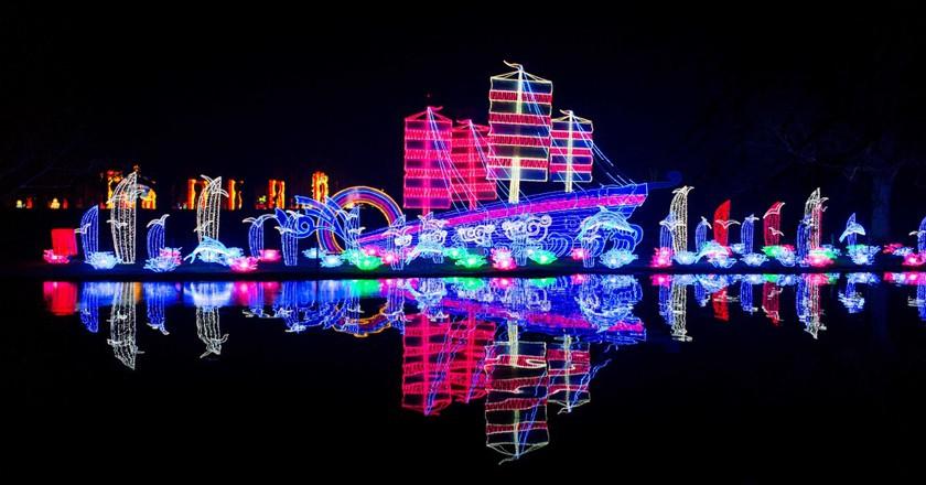 Lantern diorama at the Magic Lantern festival | Courtesy of Magic Lantern Festival
