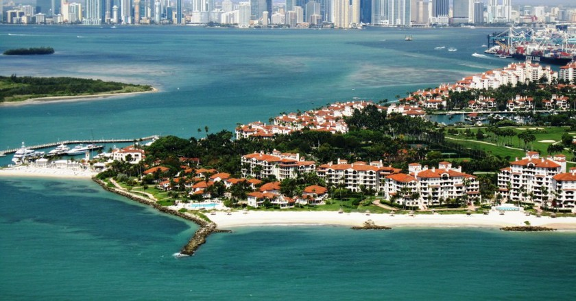 Miami and Fisher Island | ©  Mohmed Althani / Flickr