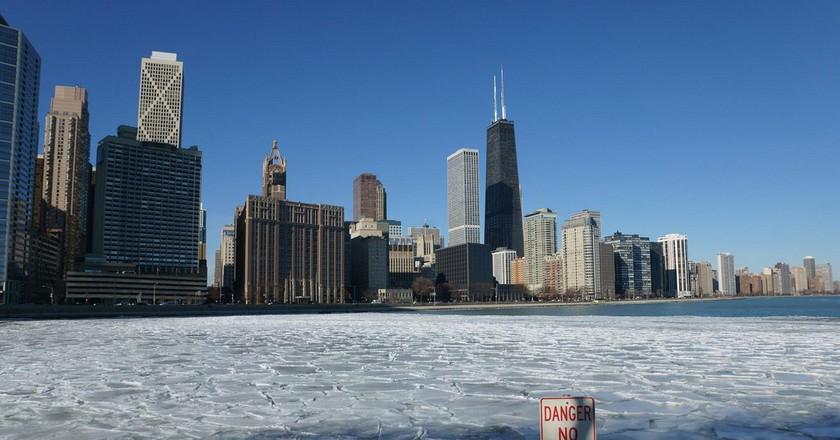 Chicago in winter | © Harald Deischinger / Flickr