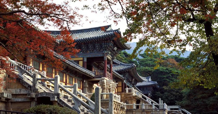 Buddhist temple Bulguksa   © Roderick Eime / Flickr