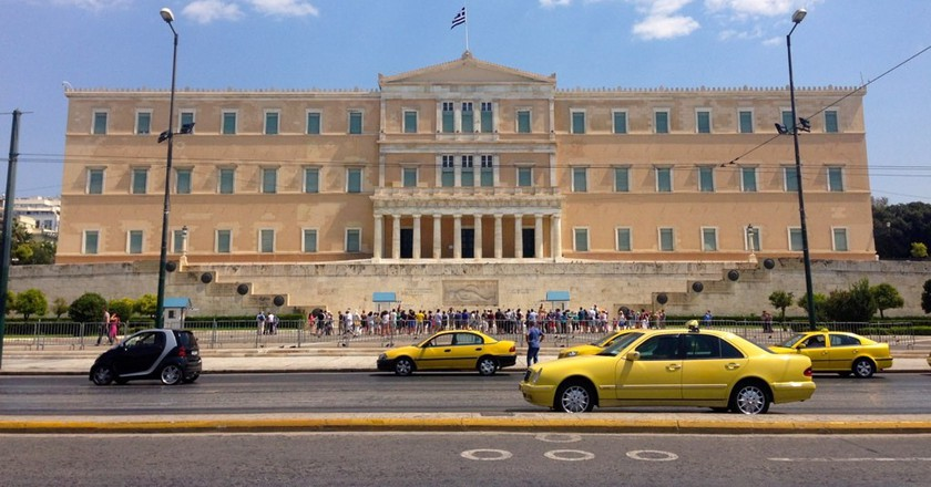 Syntagma square, Athens |© deepstereo/Flickr