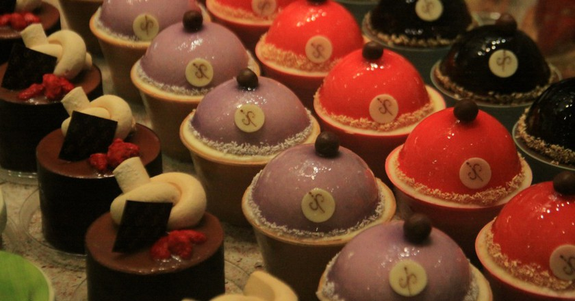 A selection of gourmet chocolates   ©  meesh / Flickr