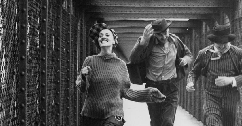 "A scene from François Truffaut's ""Jules et Jim"" (1962) │© Breve Storia del Cinema"
