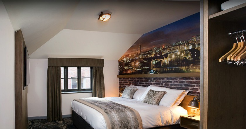 One of the rooms at The Abel Heywood | Courtesy of The Abel Heywood