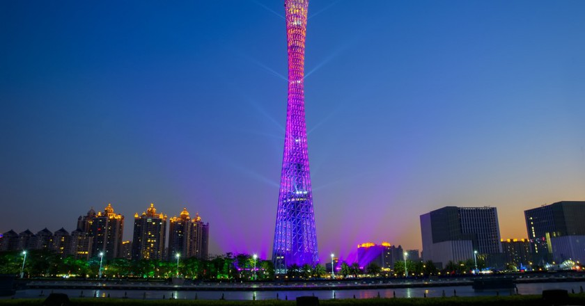 Canton Tower | © yumoheart / Pixabay