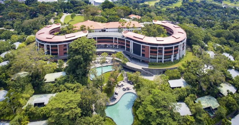 Aerial View of Capella Singapore | Courtesy of Capella Singapore