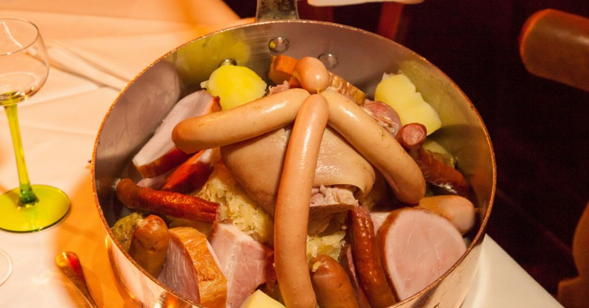 A hearty and delicious choucroute garnie ©Philippe de Rexel / OT Strasbourg