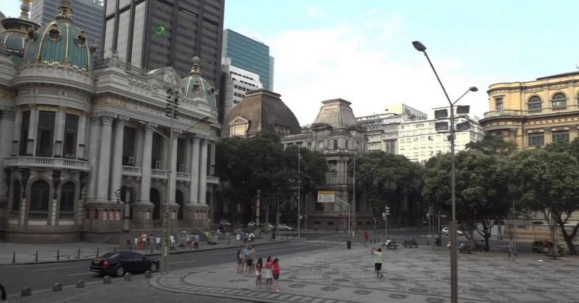 Cinelandia square |© youtube
