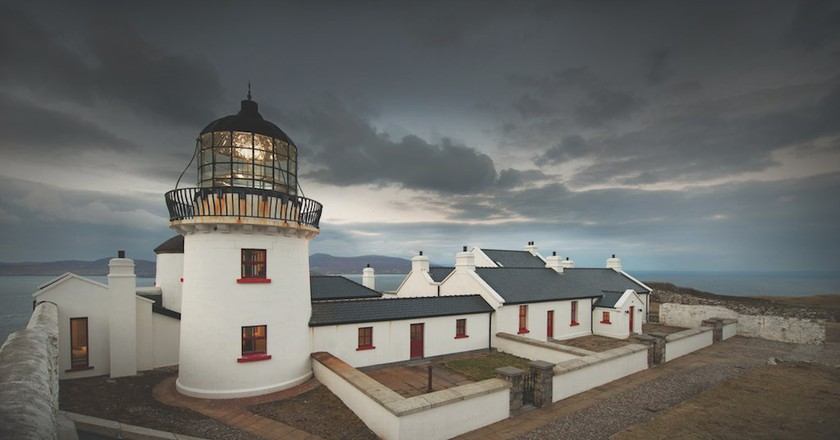 Clare Island Lighthouse © Michael McLoughlin Photography   Courtesy of Great Lighthouses of Ireland