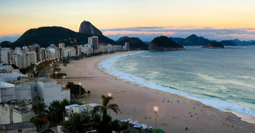 Copacabana, Rio de Janeiro, Brazil  ©Mauricio Lima/Flickr