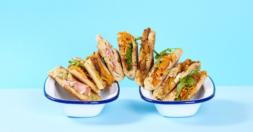 Delicious sandwiches │Courtesy of Pressing