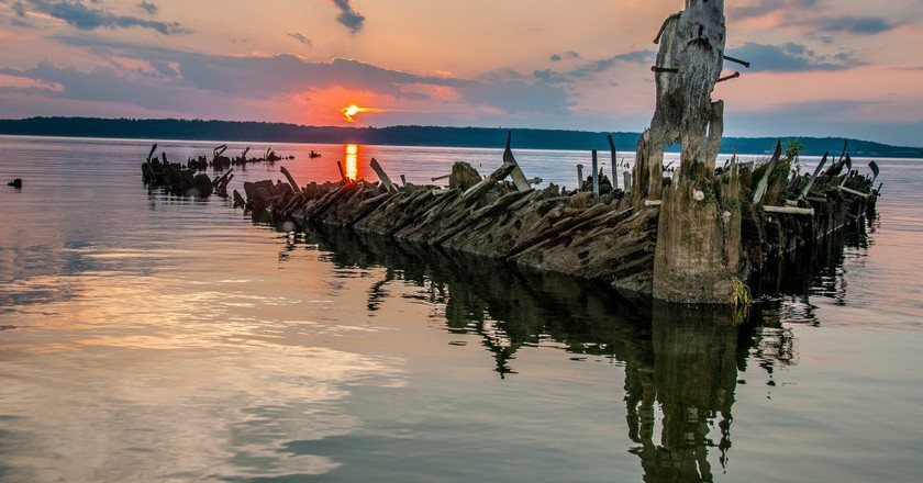Mallows Bay © Peter Turcik/Chesapeake Conservancy