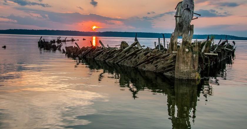 Mallows Bay © Peter Turcik/Chesapeake Conservancy