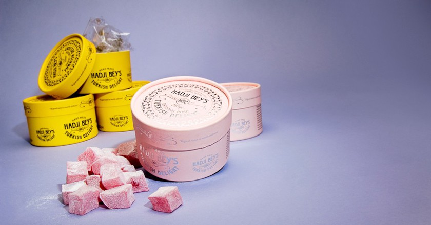 Hadji Bey's Turkish delight | Courtesy of Hadji Bey's