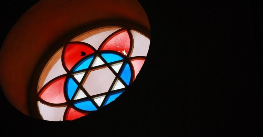 Stained Glass Window   © Nidhe Israel Synagogue and Museum