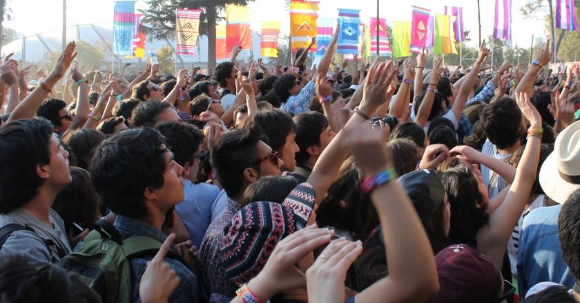Lollapalooza makes a trip to Santiago again in 2017 | © Elizabeth Trovall