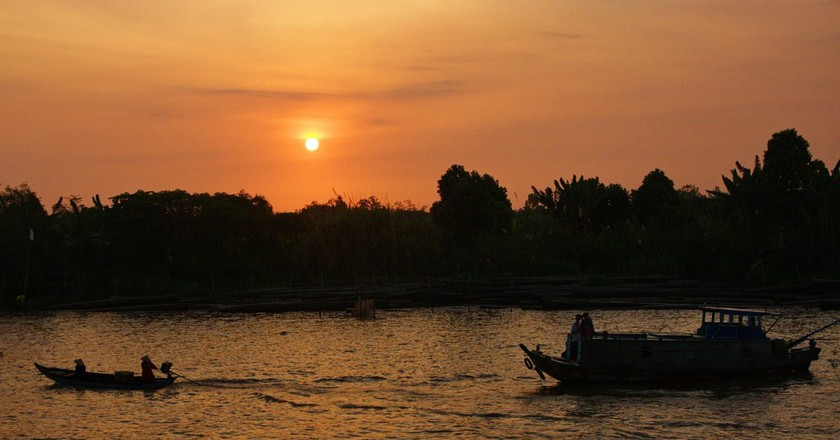 Sunset over the Mekong Delta © EXOTOURS / Pixabay