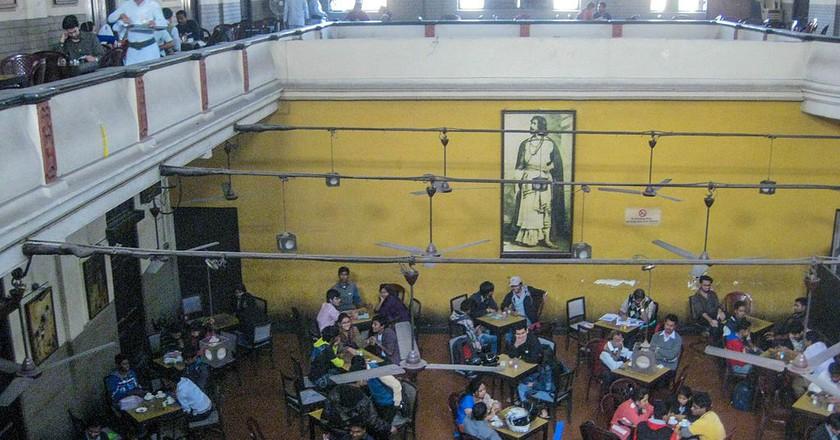 Indian Coffee House, Kolkata | © Nahid Sultan / WikiCommons