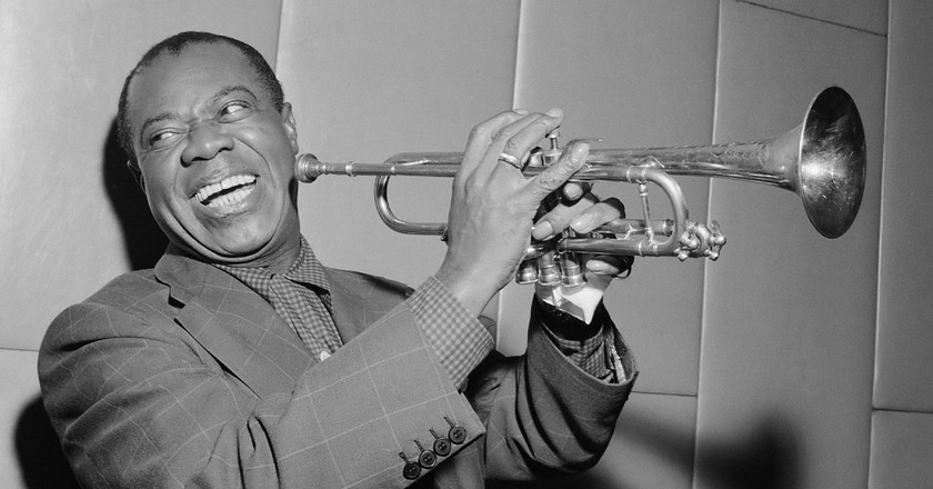Louis Armstrong | © Herbert Behres/NationalArchive
