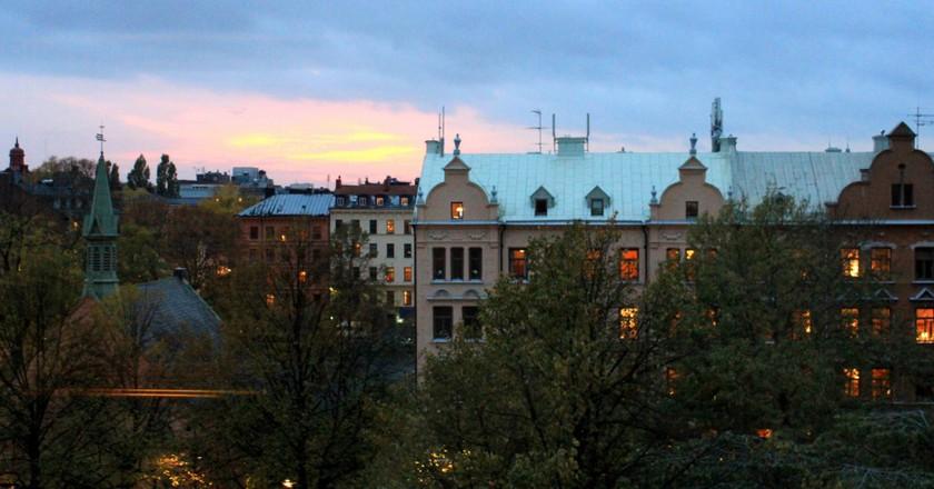 Stockholm's Södermalm at dawn   ©Jonathan Pio/Flickr
