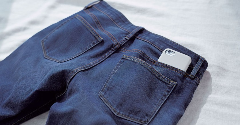 MUJI Launches Denim with Smartphone Pocket for Spring 2017, courtesy of Camron PR