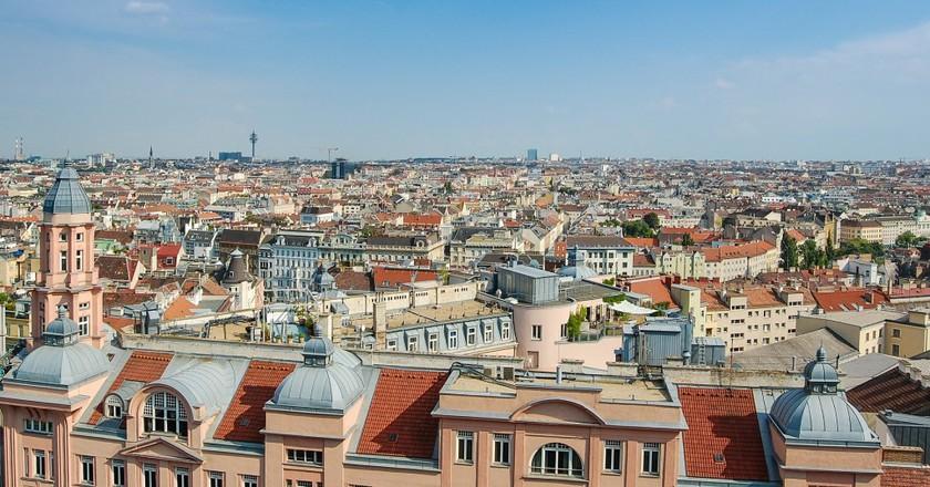 Panoramic view of Vienna   © jarmoluk / pixabay