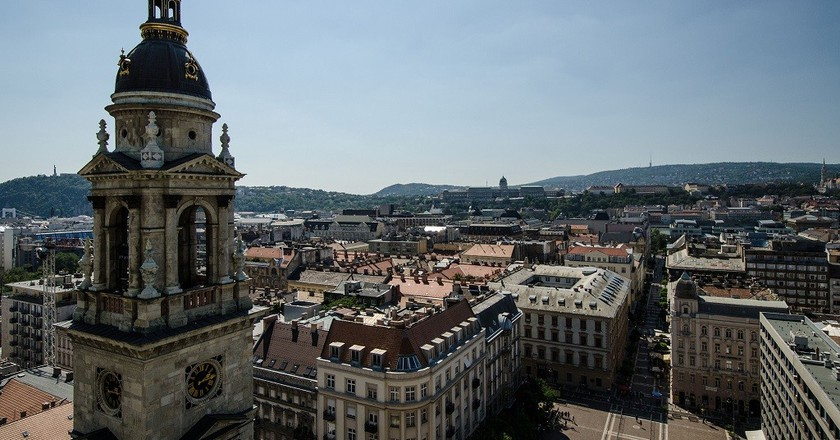 View from top of St Stephen Basillica | © Chad Goddard/Flickr
