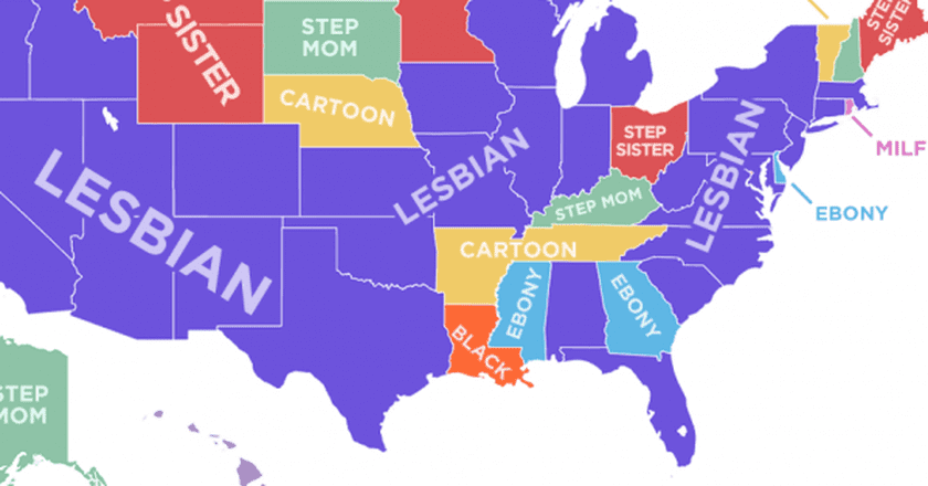 23 Funny And Interesting Maps That Show Just How Weird America Really Is-6544
