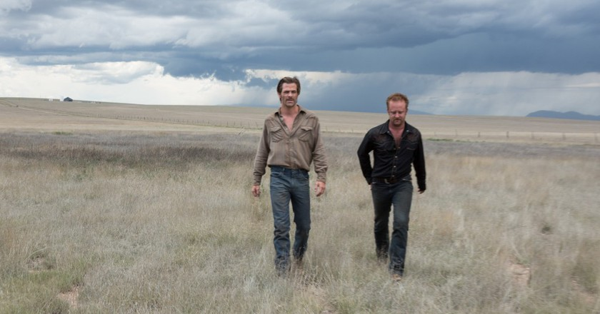 Chris Pine and Ben Foster in 'Hell or High Water'   Studiocanal