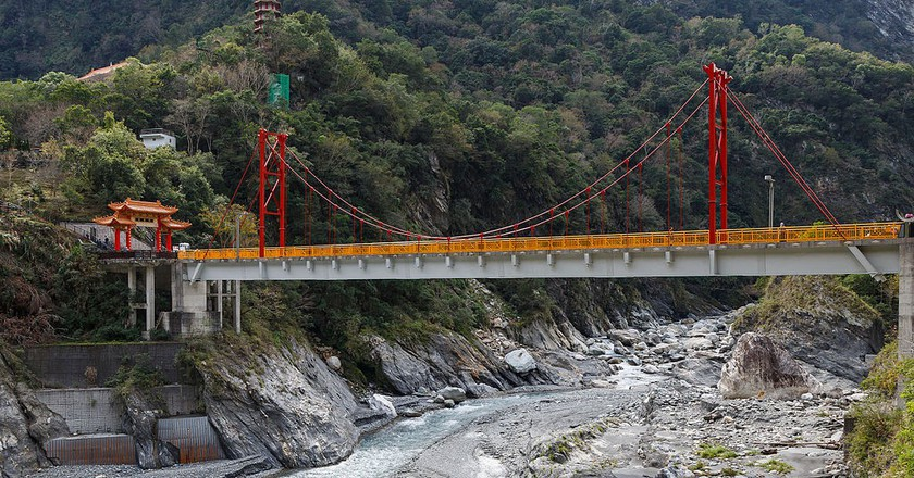 Pudu Bridge at Taroko Gorge | © CEphoto, Uwe Aranas