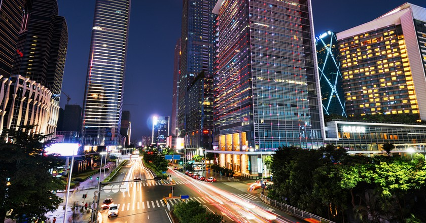 Shenzhen at night | © fuyu liu/Shutterstock
